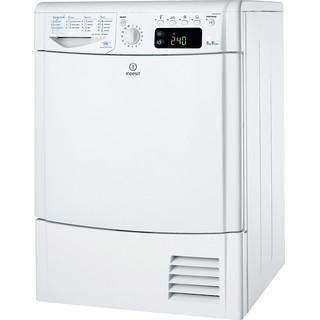 Indesit Dryer IDCE 8450 B H (UK) White Perspective