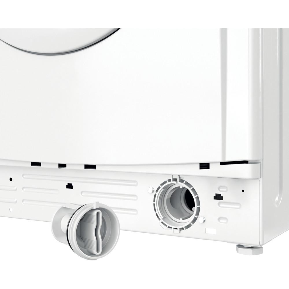 Indesit Перална машина Свободностоящи EWSC 61251 W EU N Бял Предно зареждане F Filter