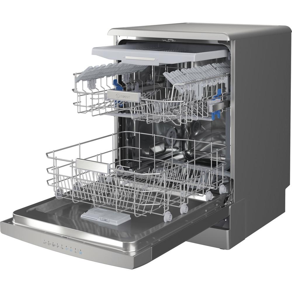 Indesit Máquina de lavar loiça Livre Instalação DFO 3T133 A F X Livre Instalação D Perspective open