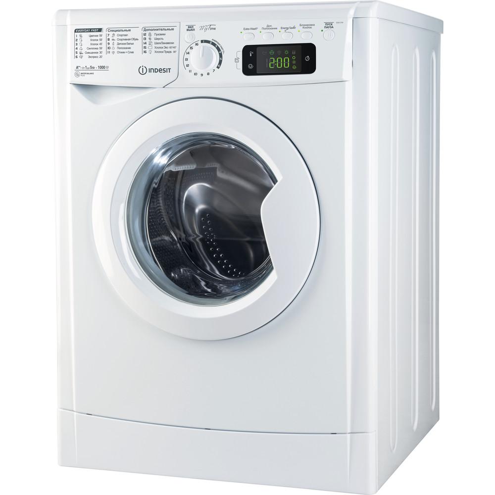 Indesit Стиральная машина Отдельно стоящий E2SE 2150 W UA Белый Front loader A++ Perspective