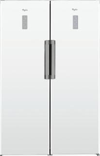 Fritstående Whirlpool-køleskab: hvid farve - SW8 AM2D WHR 2