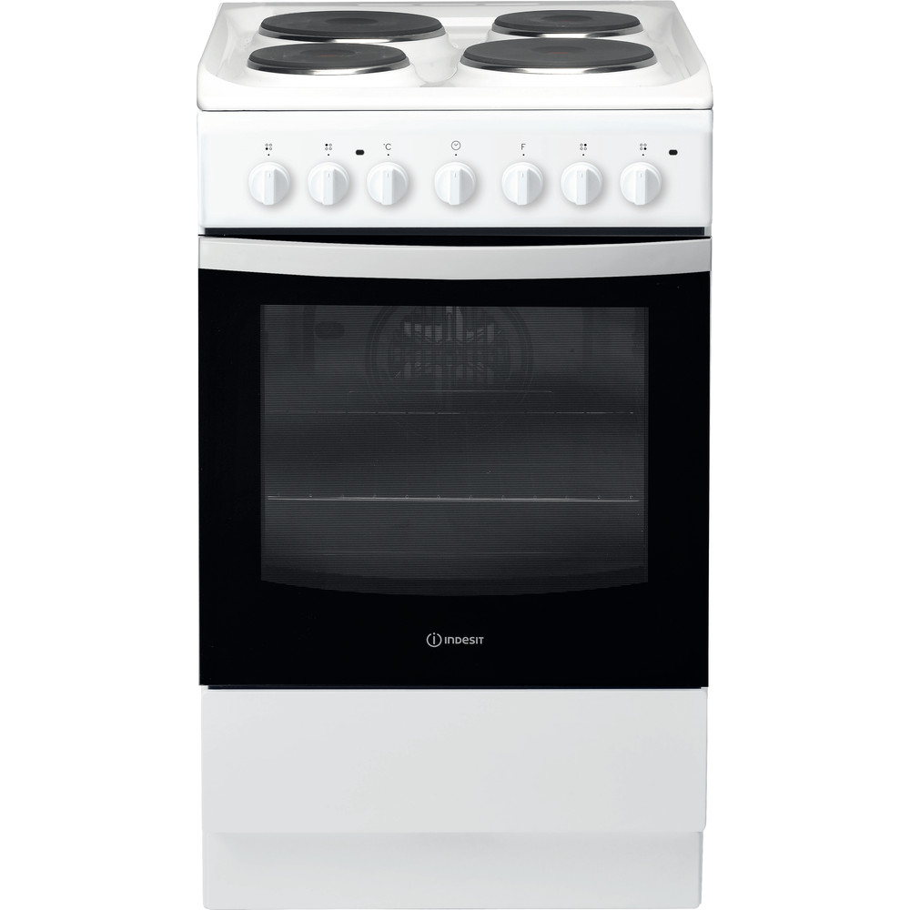 Indesit Плита IS5E4KHW/RU Белый Electrical Frontal