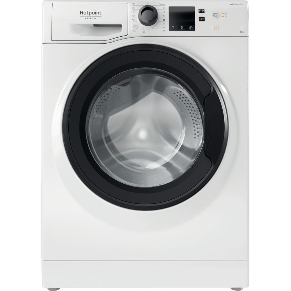 Hotpoint_Ariston Máquina de lavar roupa Livre Instalação NS1043CWKEU N Branco Carga Frontal D Frontal
