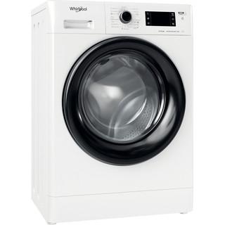 Whirlpool Πλυντήριο ρούχων Ελεύθερο FWSG 71283 BV EE N Λευκό Front loader A+++ Perspective