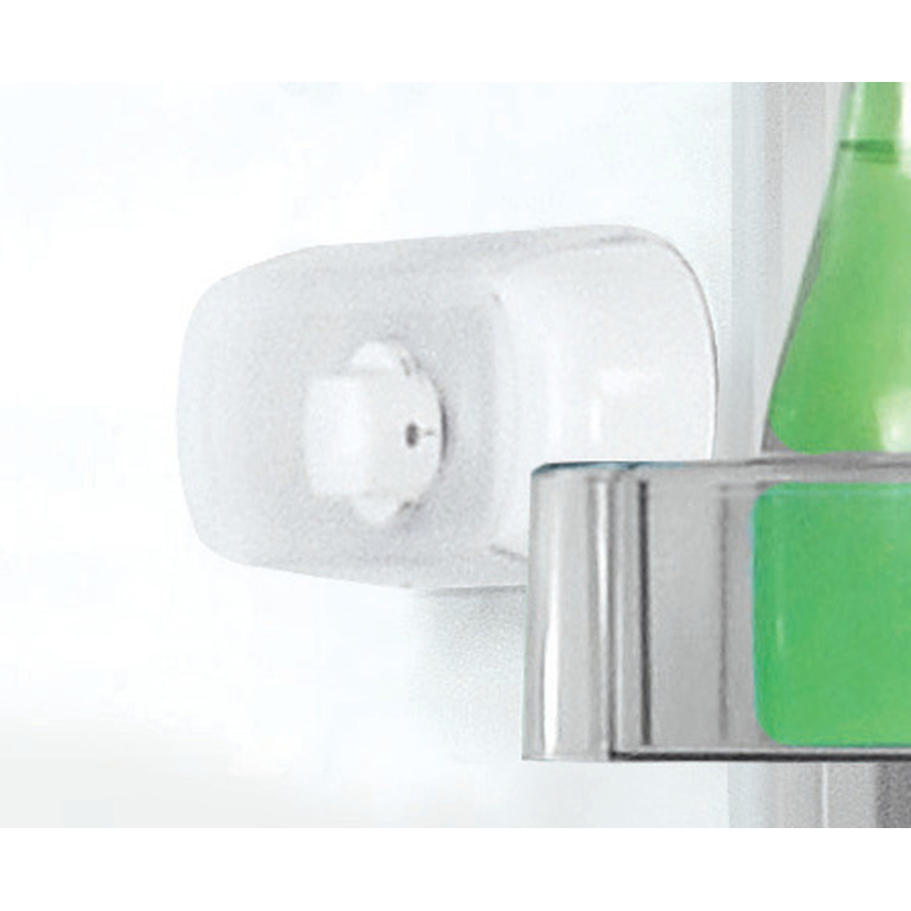 Indesit Réfrigérateur combiné Pose-libre LR8 S2 K B Noir 2 portes Lifestyle control panel