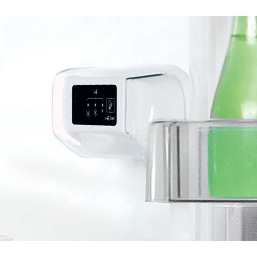 Indesit Fridge-Freezer Combination Free-standing LI8 S1E W UK Global white 2 doors Lifestyle control panel