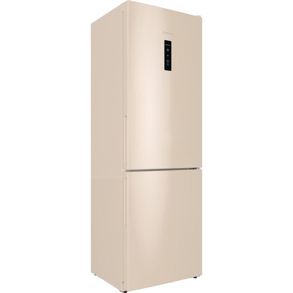 Indesit Холодильник с морозильной камерой Отдельностоящий ITR 5180 E Розово-белый 2 doors Perspective
