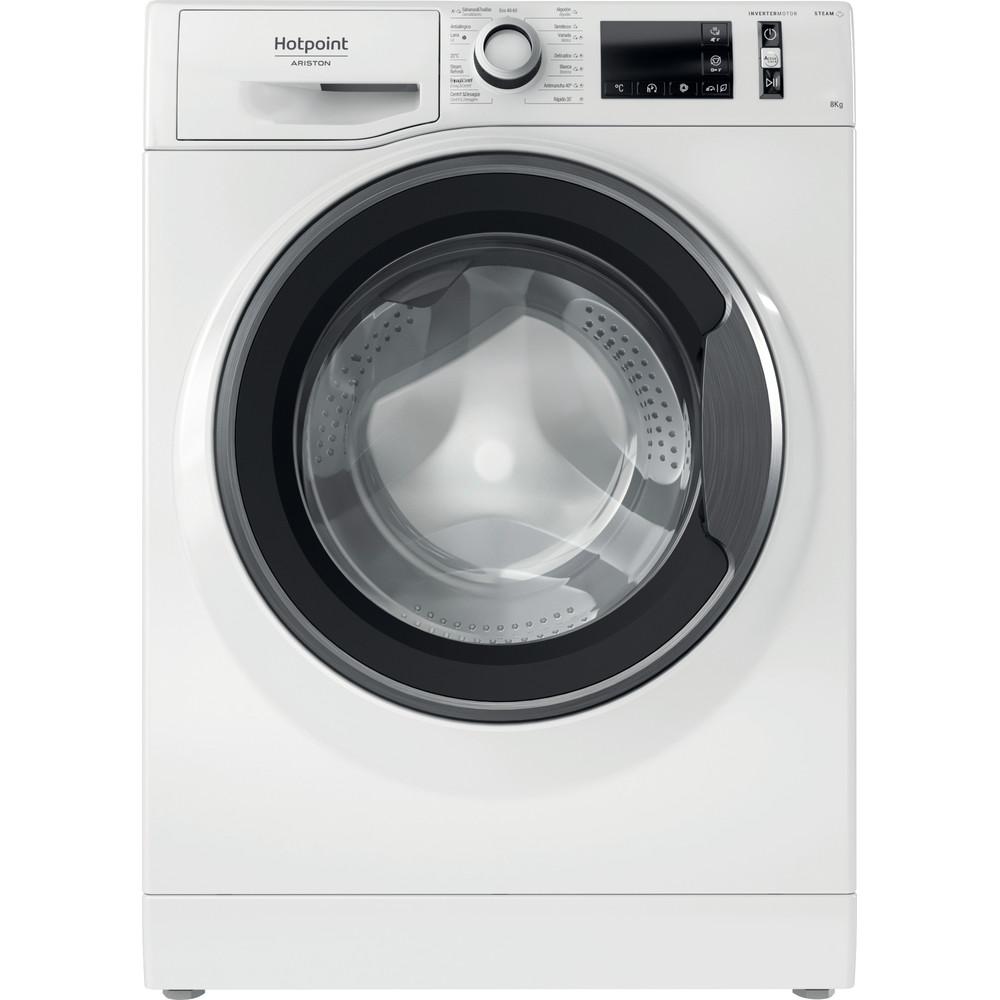 Hotpoint_Ariston Máquina de lavar roupa Livre Instalação NM11 824 WS A SPT N Branco Carga Frontal C Frontal