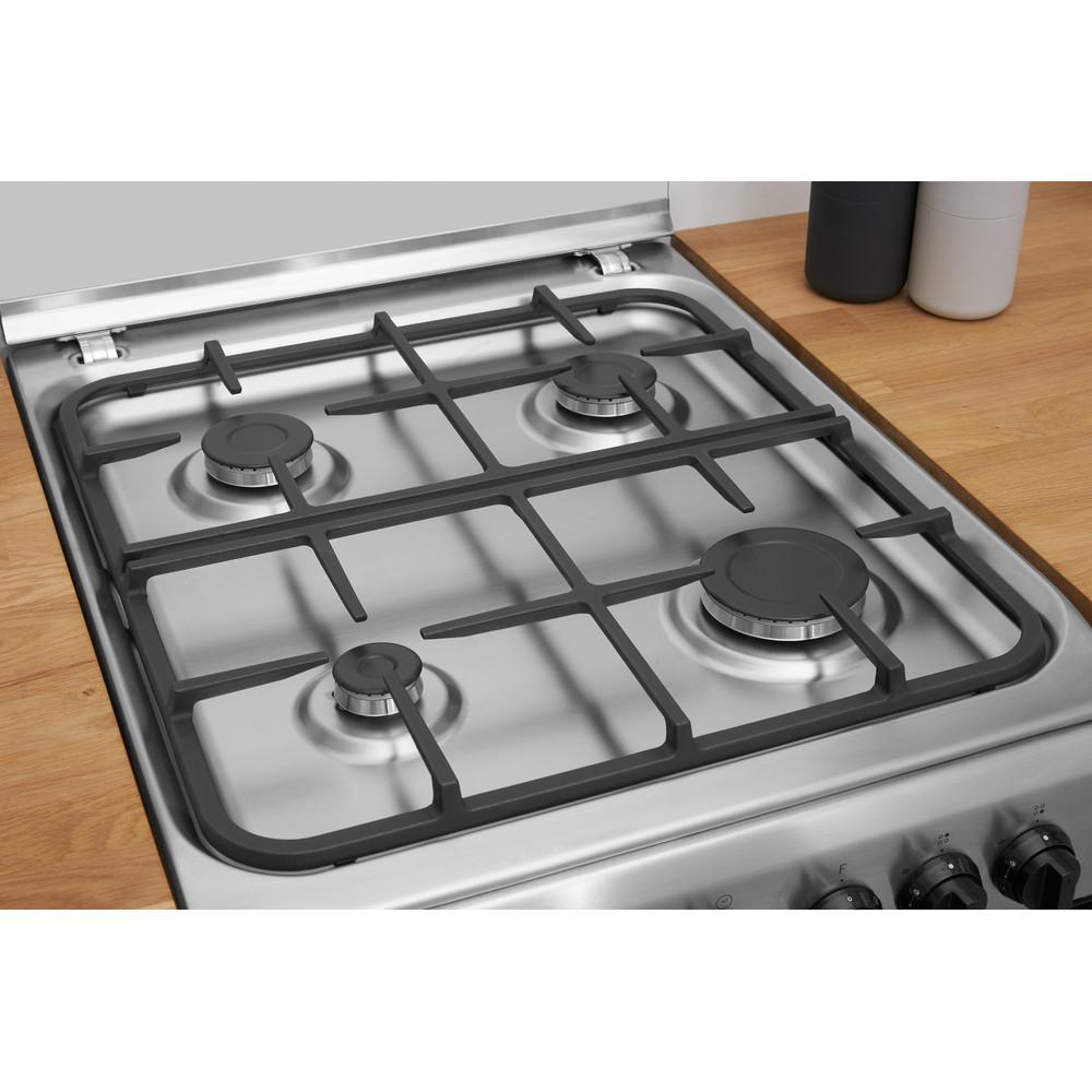 Indesit Kuchenka IS5G5PHX/PO Inox Gazowy Heating element