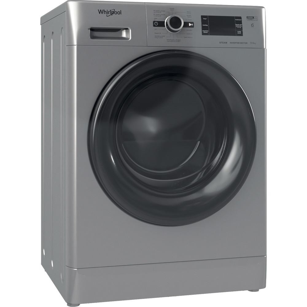 Lavasecadora de libre instalación Whirlpool: 9kg - FWDG 961483 SBV SPT N