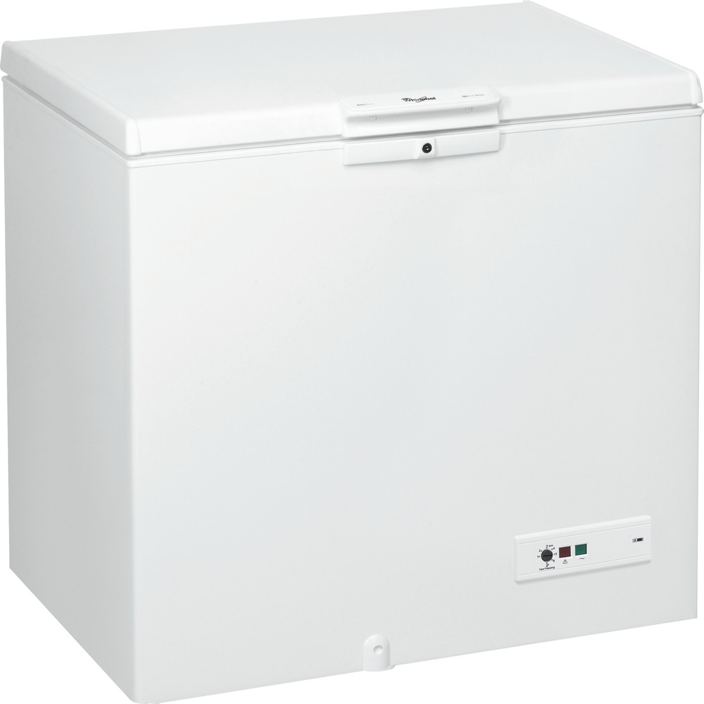 Whirlpool frysbox: färg vit - WHM2511