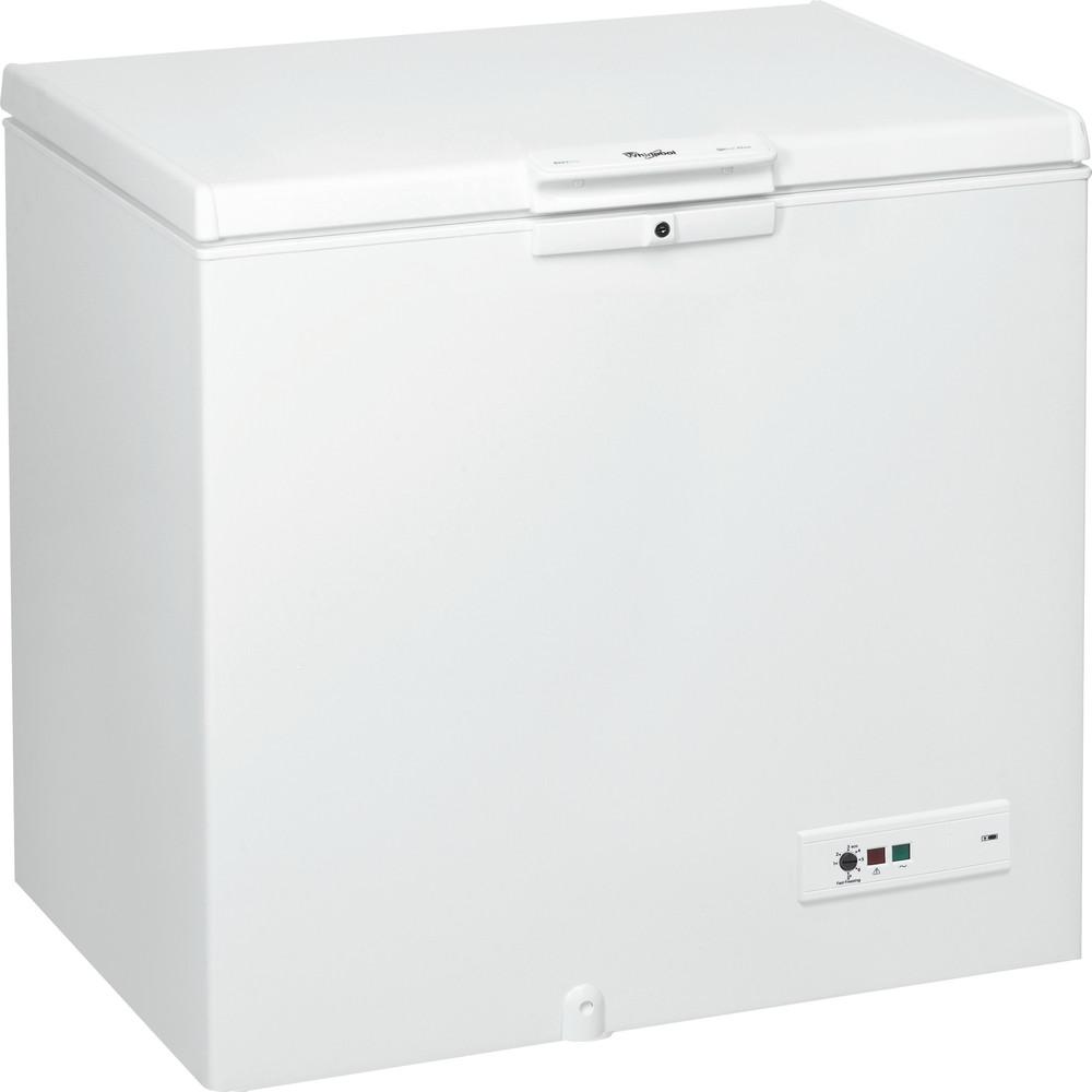 Whirlpool frysbox: färg vit - WHM25112