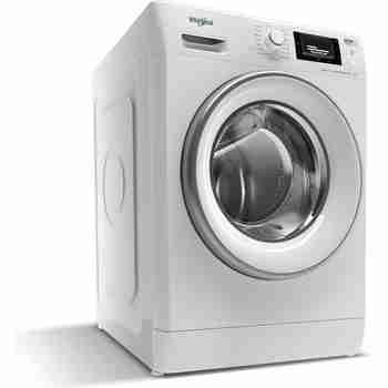 Whirlpool Maşină de spălat rufe Independent FWSD 81283 SV EE N Alb Încărcare frontală D Perspective
