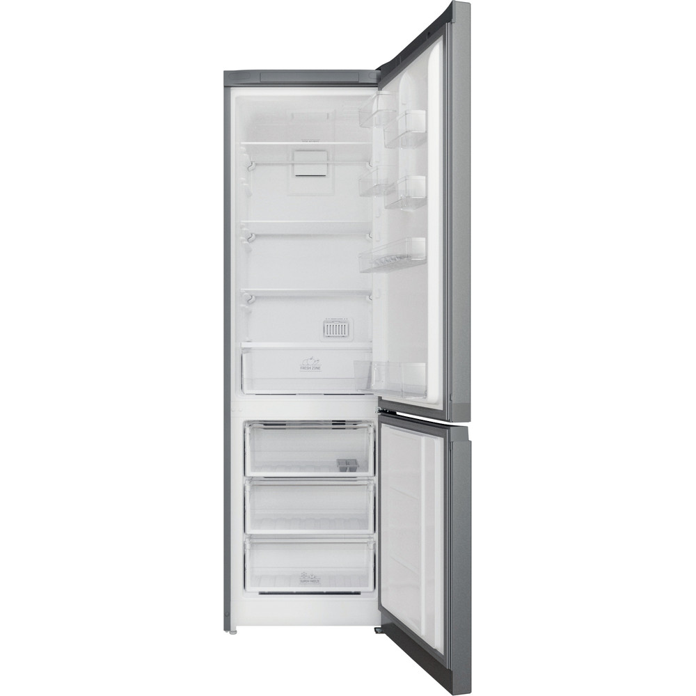 Hotpoint_Ariston Комбинированные холодильники Отдельностоящий HTS 5200 S Серебристый 2 doors Frontal open