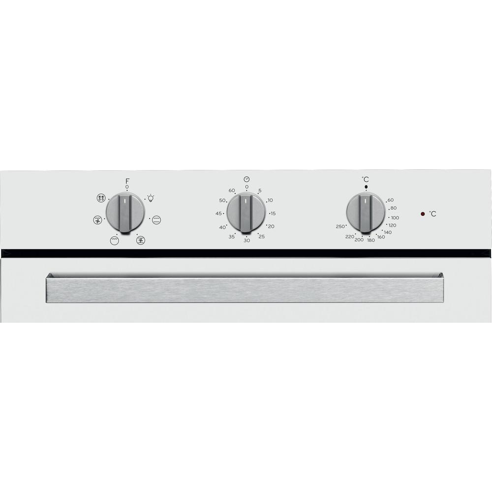 Indesit Horno Encastre IFW 6530 WH Eléctrico A Control panel