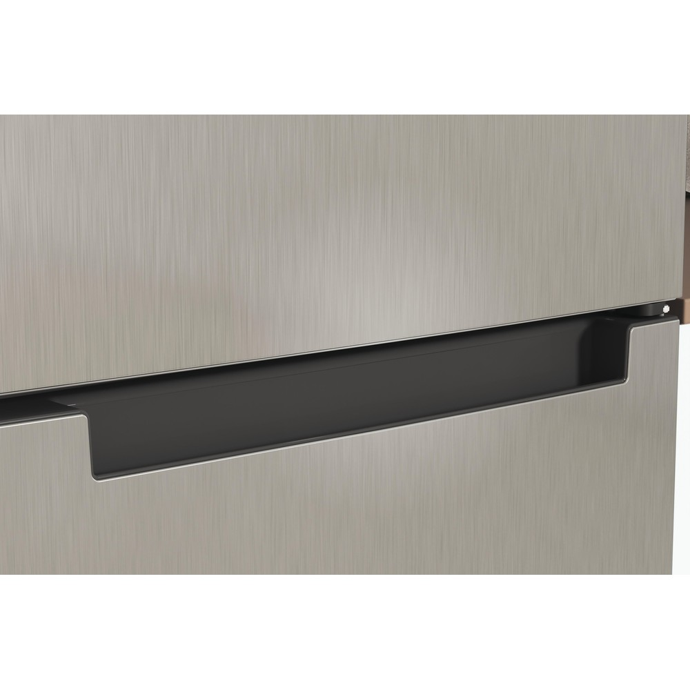 Indesit Combiné réfrigérateur congélateur Pose-libre INFC9 TI22X Inox 2 portes Lifestyle detail