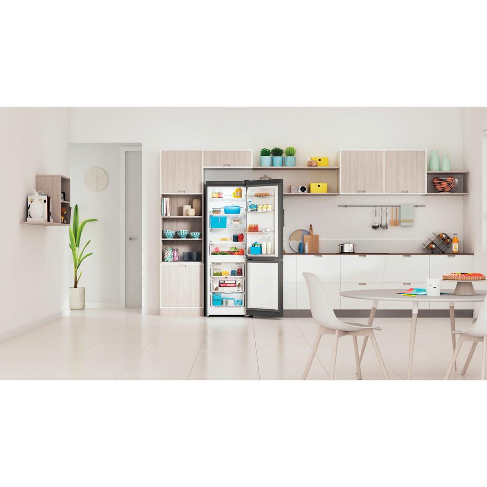 Indesit Холодильник з нижньою морозильною камерою. Соло ITI 5181 S UA Сріблястий 2 двері Lifestyle frontal open