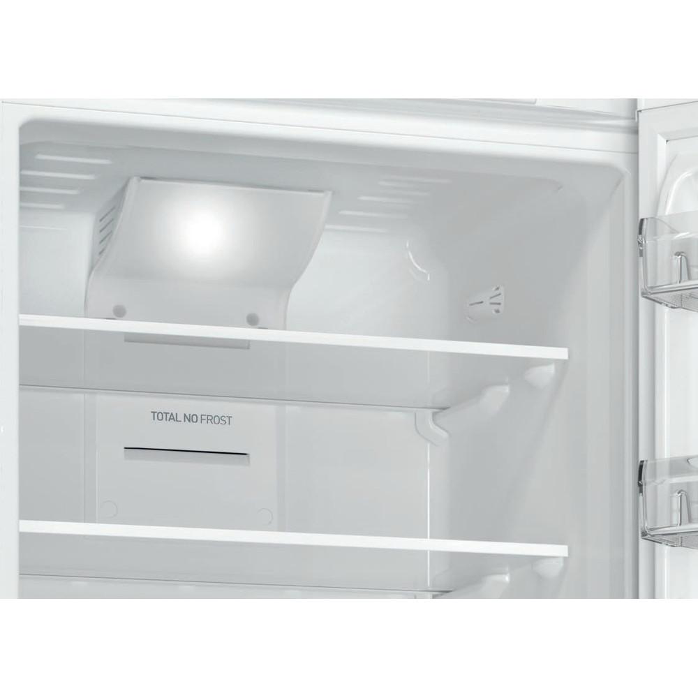 Indesit Холодильник с морозильной камерой Отдельностоящий DFN 18 D Белый 2 doors Drawer