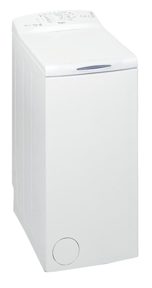 Whirlpool Washing machine Samostojeća AWE 55610 Bela Gorenje punjenje A++ Perspective