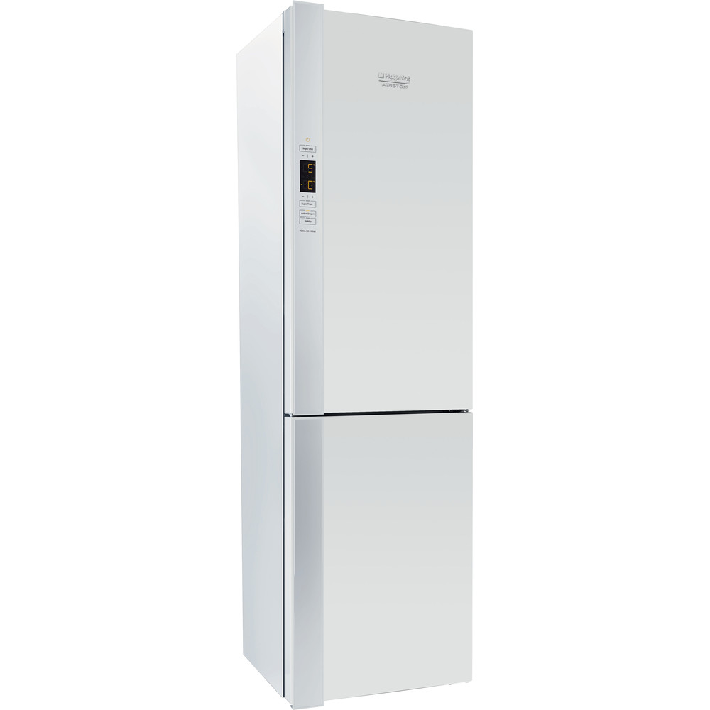 Hotpoint_Ariston Комбинированные холодильники Отдельностоящий HF 9201 W RO Белый 2 doors Perspective