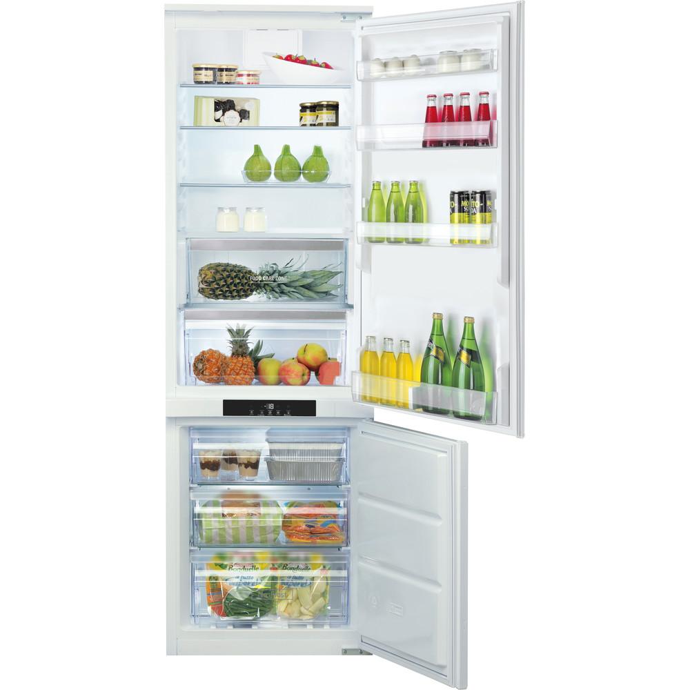 Hotpoint_Ariston Комбинированные холодильники Встраиваемая BCB 7030 AA F C (RU) Белый 2 doors Frontal open