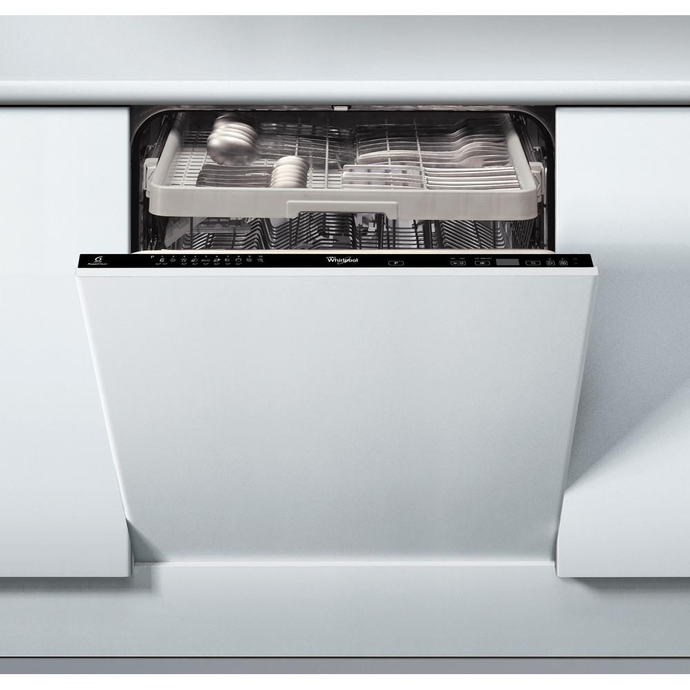 Whirlpool integrerad diskmaskin: färg svart, 60 cm - ADG8783 A++ PCTR 6S FD
