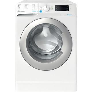 Indesit Перална машина Свободностоящи BWE 91484X WS EU N Бял Предно зареждане A+++ Frontal