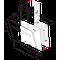 Whirlpool Liesituuletin Kalusteisiin sijoitettava AKR 808 BK Musta Wall-mounted Elektroninen Frontal