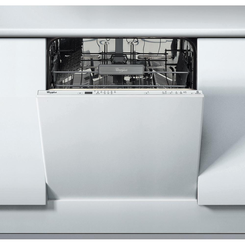 Whirlpool integrerad diskmaskin: färg silver, 60 cm - ADG 7000