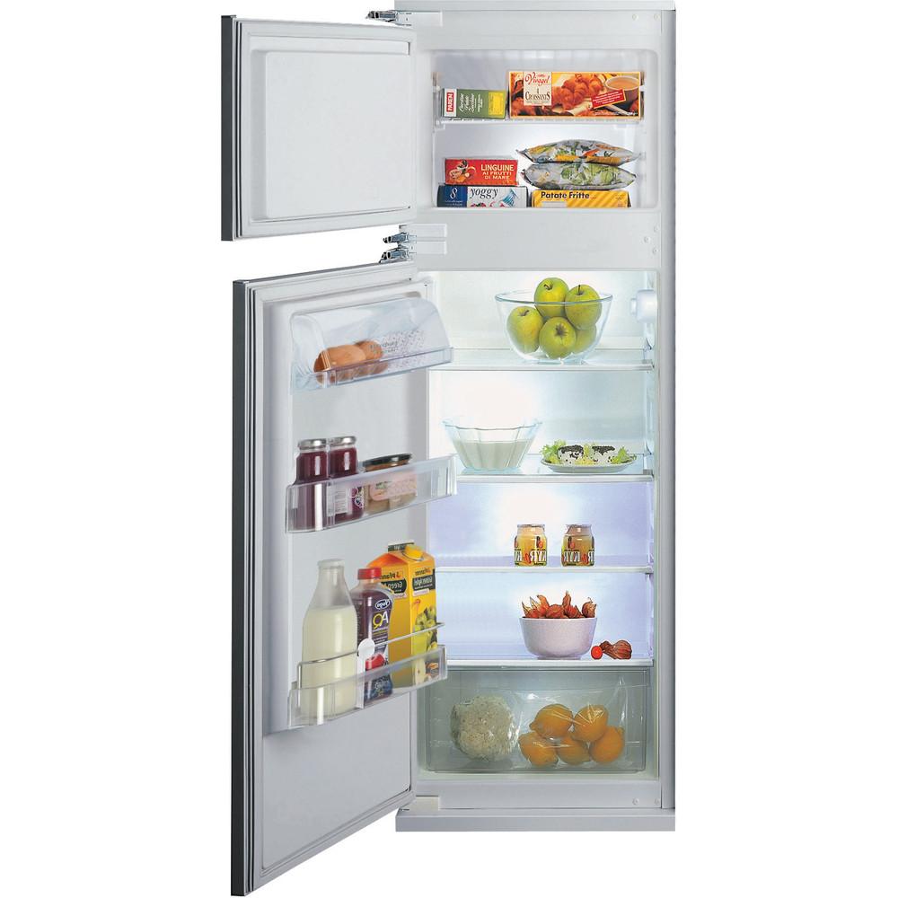 Hotpoint_Ariston Combinazione Frigorifero/Congelatore Da incasso BD 2422 S/HA 1 Acciaio 2 porte Frontal open
