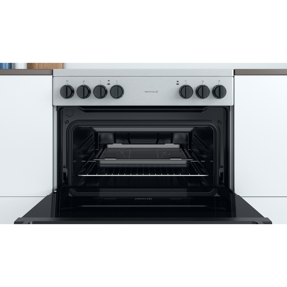 Indesit Double Cooker ID67V9HCCX/UK Inox A Cavity