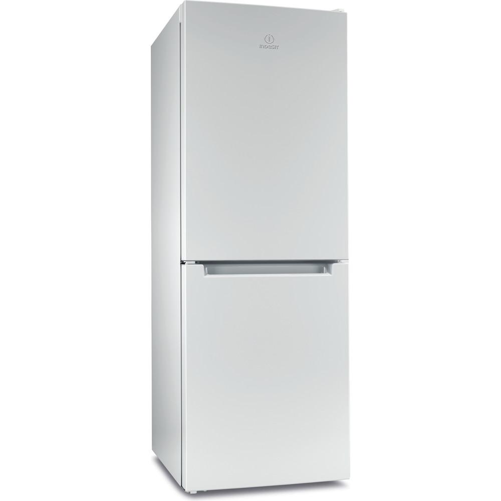 Indesit Холодильник с морозильной камерой Отдельностоящий ITF 016 W Белый 2 doors Perspective