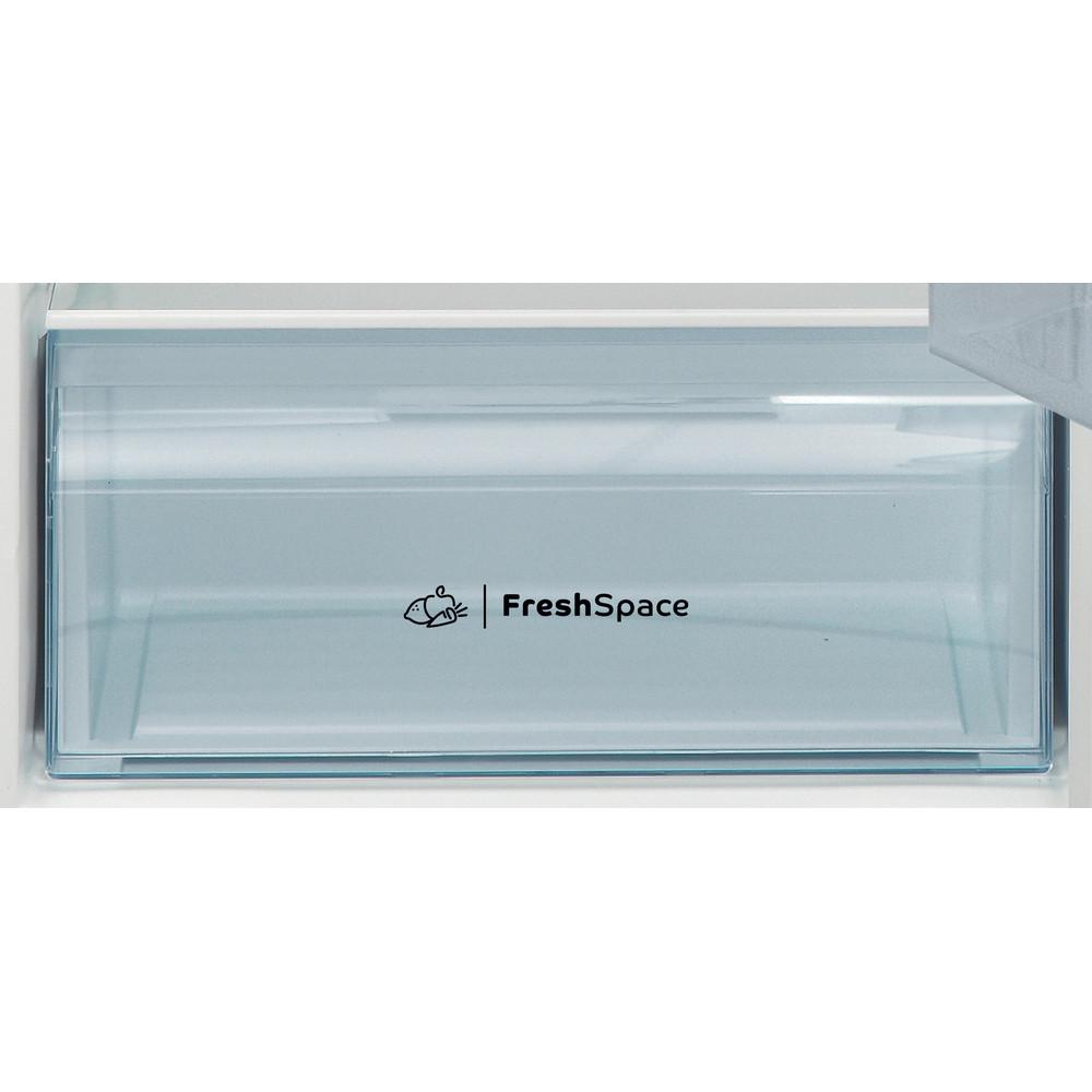 Indesit Combinazione Frigorifero/Congelatore A libera installazione I55TM 4110 W 1 Bianco 2 porte Drawer