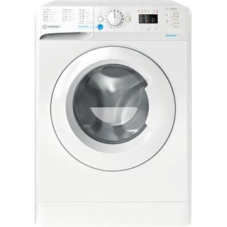 Indesit Pračka Volně stojící BWSA 71251 W EE N Bílá Front loader A+++ Frontal