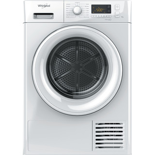 Whirlpool heat pump tumble dryer: freestanding, 8kg - FT M11 82 UK