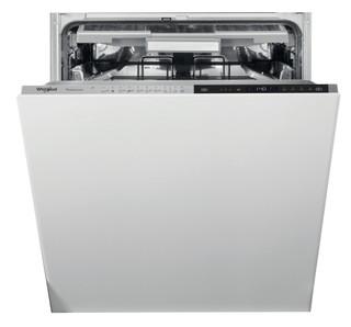 Kalusteisiin sijoitettava Whirlpool astiapesukone: Ruostumaton, Täysikokoinen - WIS 9040 PEL