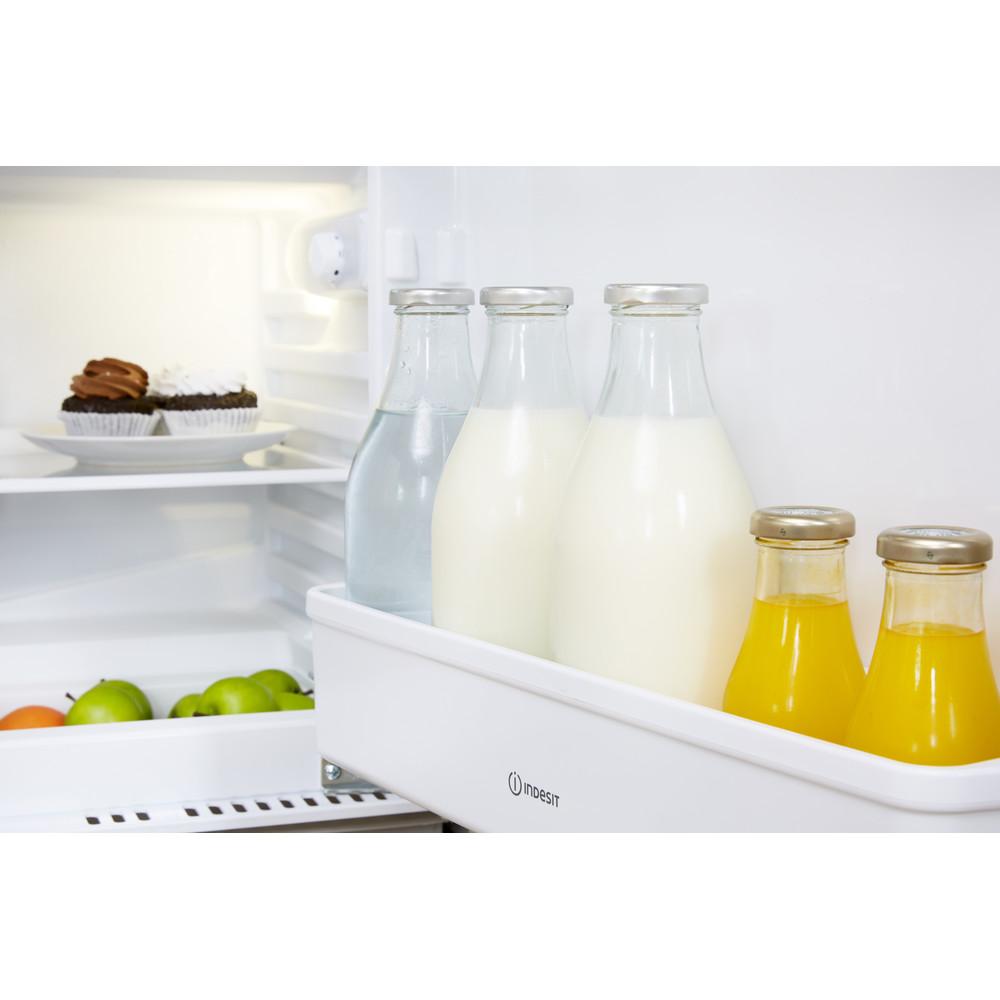 Indesit Réfrigérateur Encastrable IN TSZ 1612 1 Acier Drawer