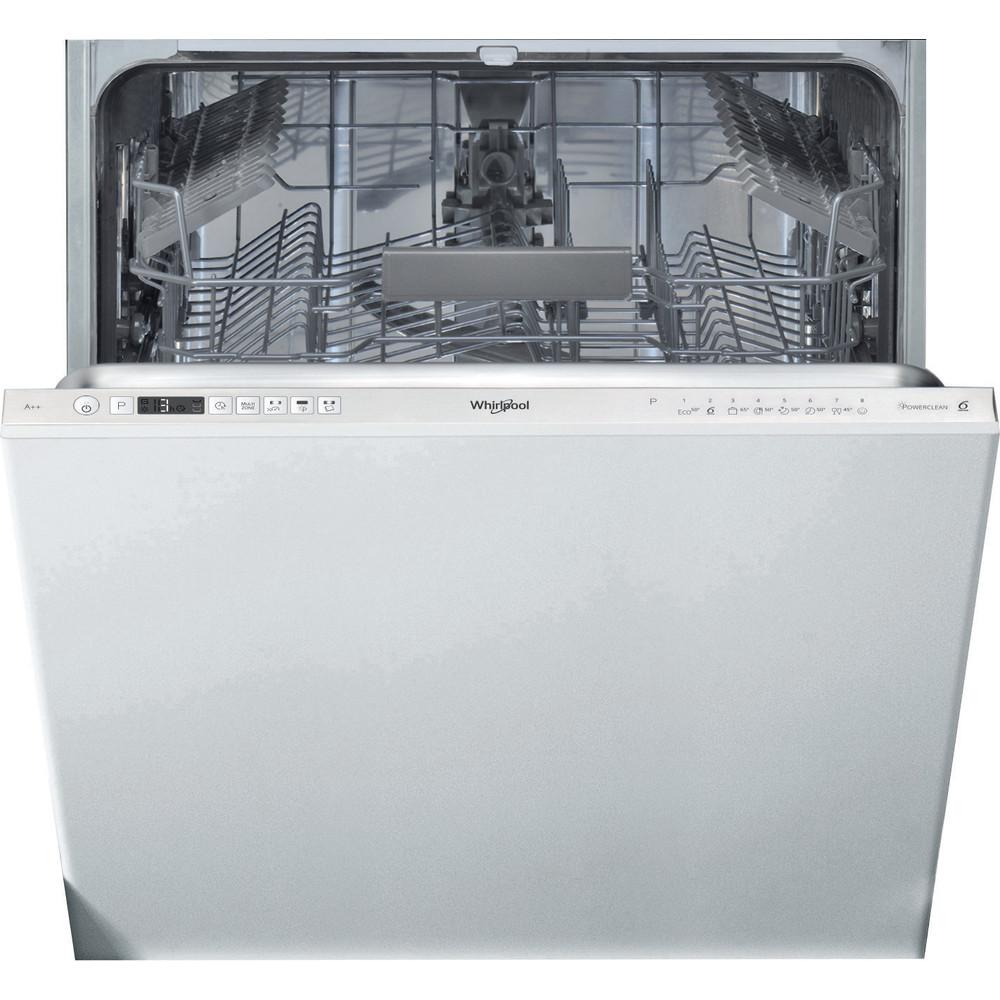 Whirlpool integrerad diskmaskin: färg silver, 60 cm - WIC 3C24 PE