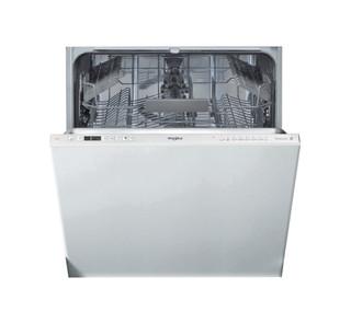 Integreret Whirlpool-opvaskemaskine: sølvfarve, fuld størrelse - WIC 3C24 PE