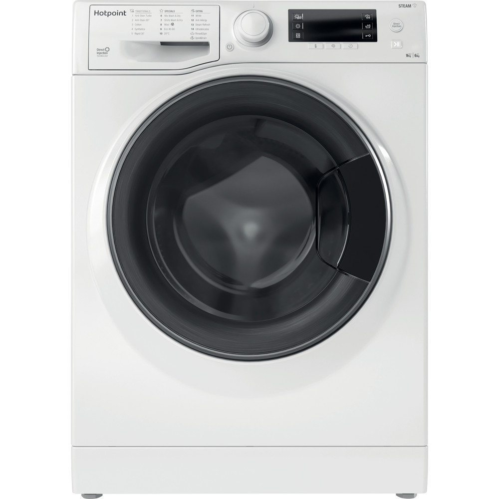 Hotpoint Washer dryer Free-standing RD 966 JD UK N White Front loader Frontal