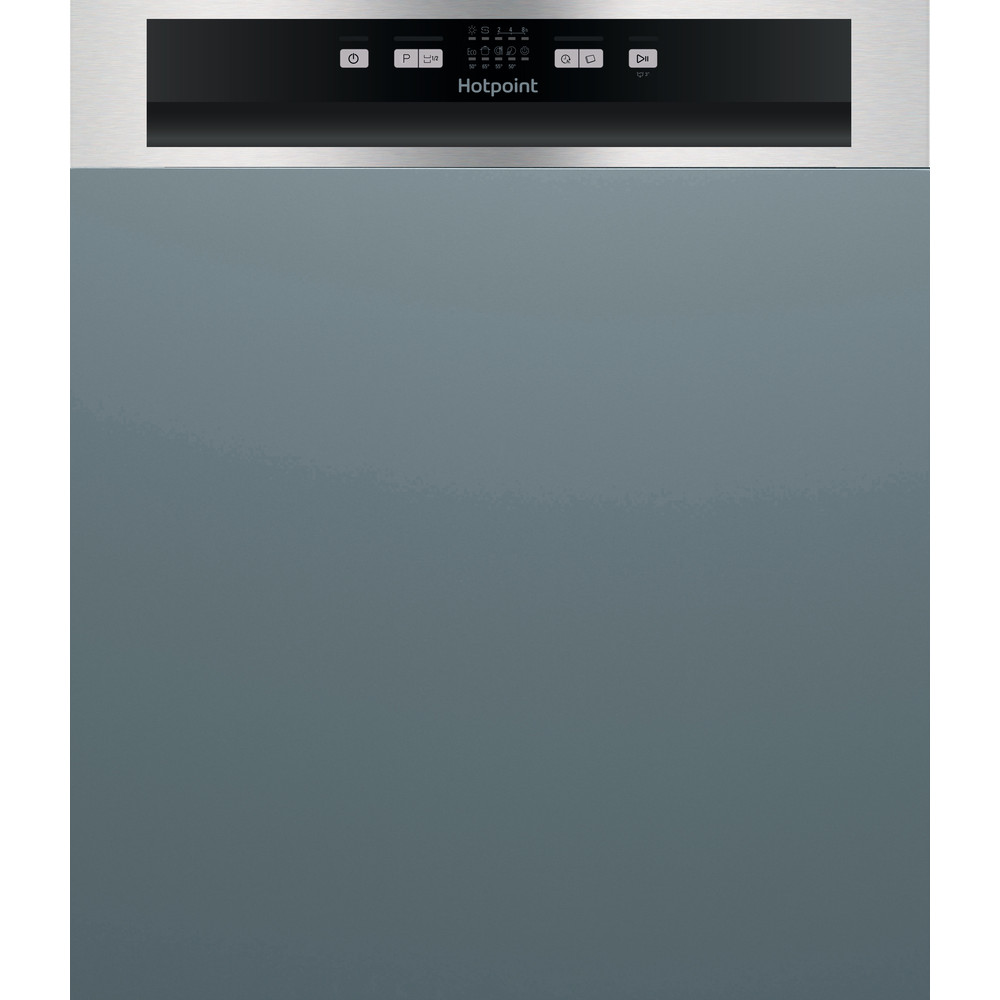 Hotpoint Dishwasher Built-in HBC 2B19 X UK Half-integrated A Frontal