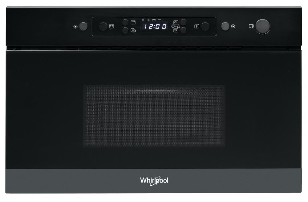 Whirlpool Mikrohullámú sütő Beépíthető AMW 4920/NB Fekete Érintőszenzoros kezelés 22 Mikrohullám+grill funkció 750 Frontal