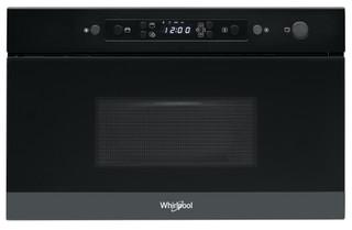 Whirlpool beépíthető mikorhullámú sütő: fekete szín - AMW 4920/NB