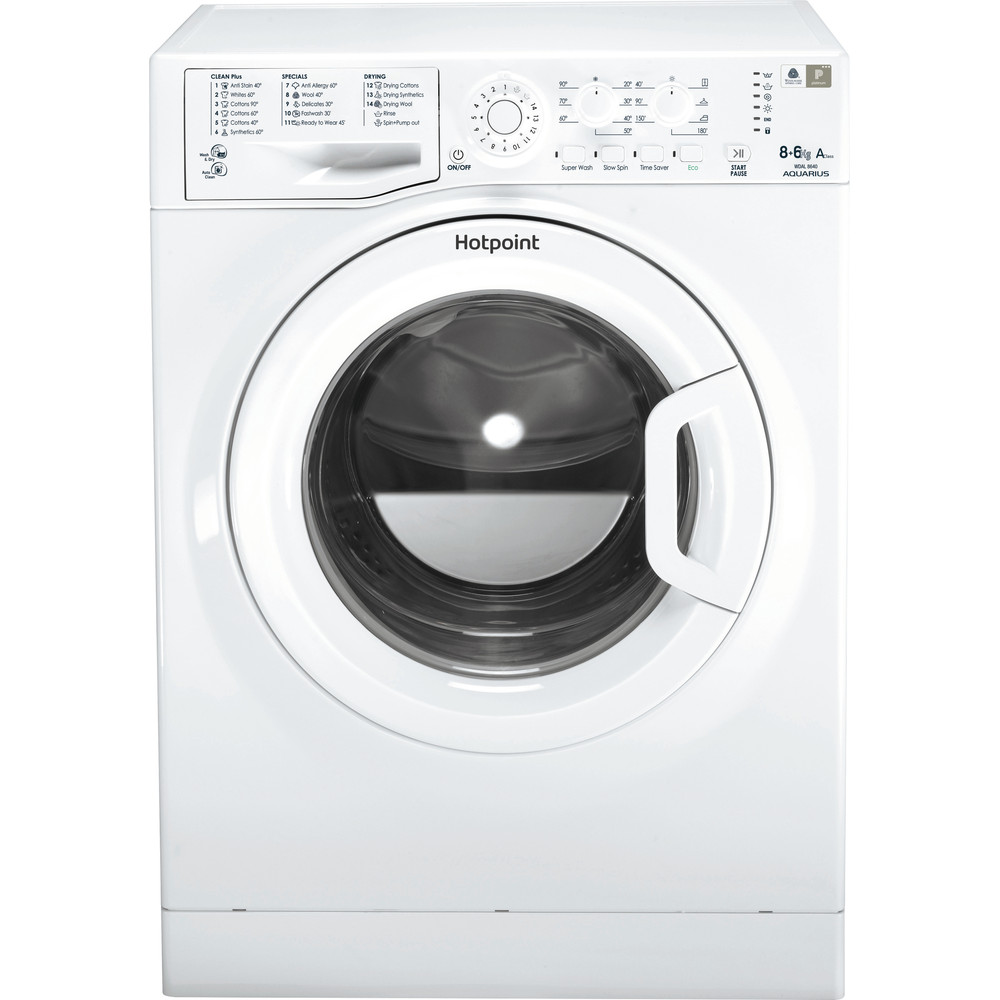 Freestanding Washer Dryer Hotpoint Wdal 8640p Uk Hotpoint