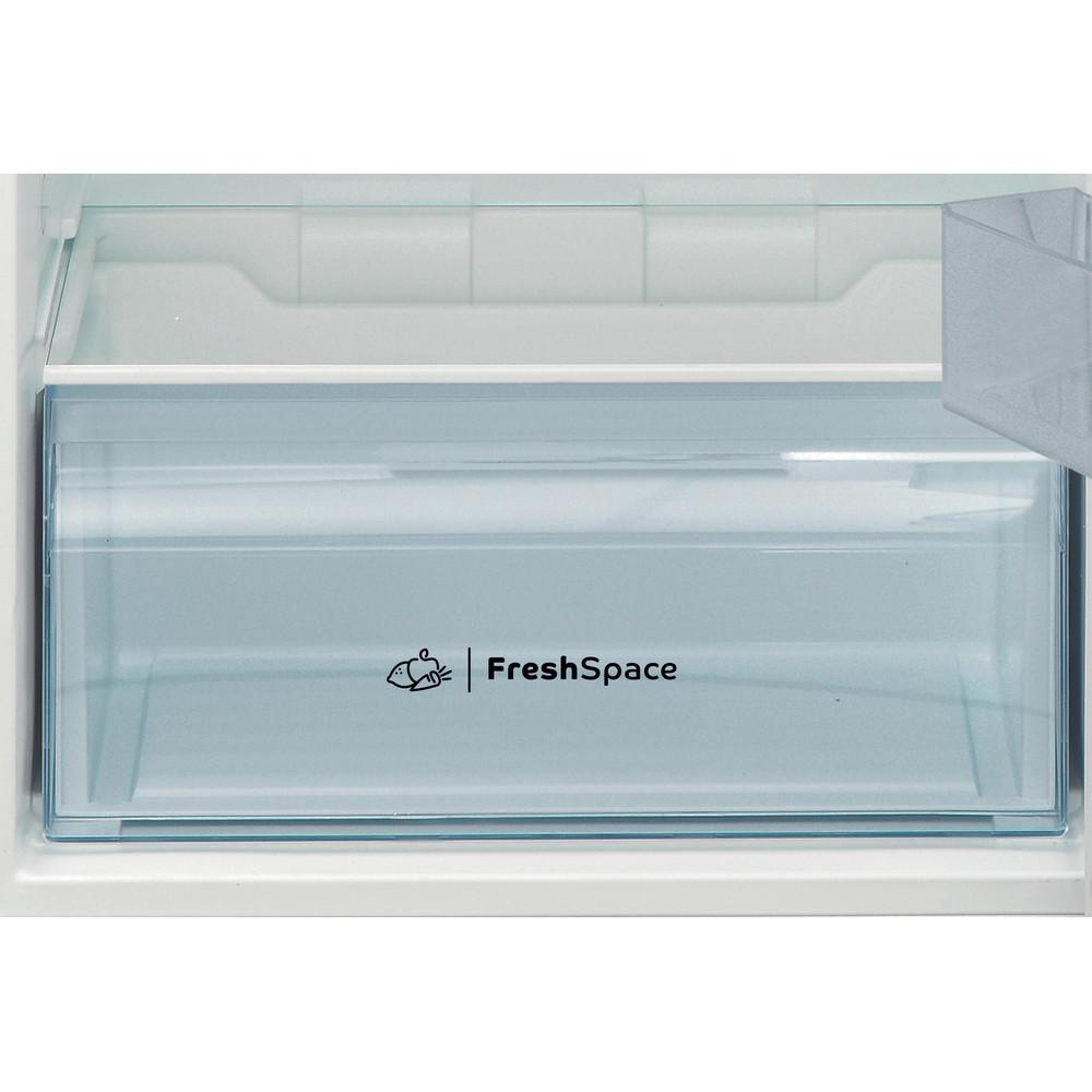 Indesit Kombinacija hladnjaka/zamrzivača Samostojeći I55TM 4110 X 1 Inox 2 doors Drawer
