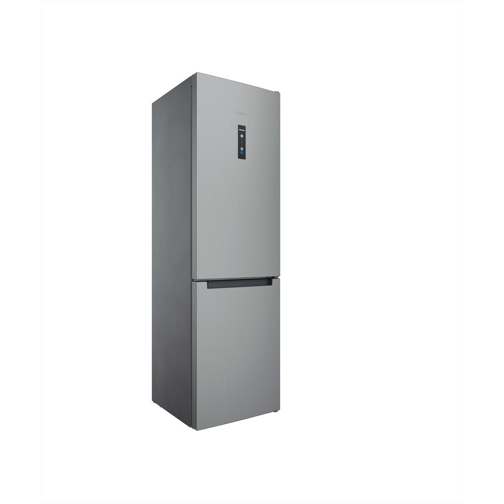 Indesit Комбиниран хладилник с камера Свободностоящи INFC9 TO32X Инокс 2 врати Perspective