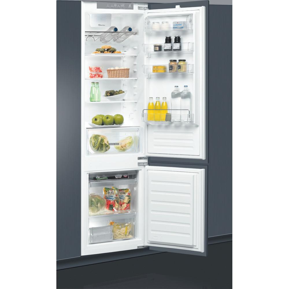 Холодильник Whirlpool з нижньою морозильною камерою вбудований - ART 9814/A+ SF