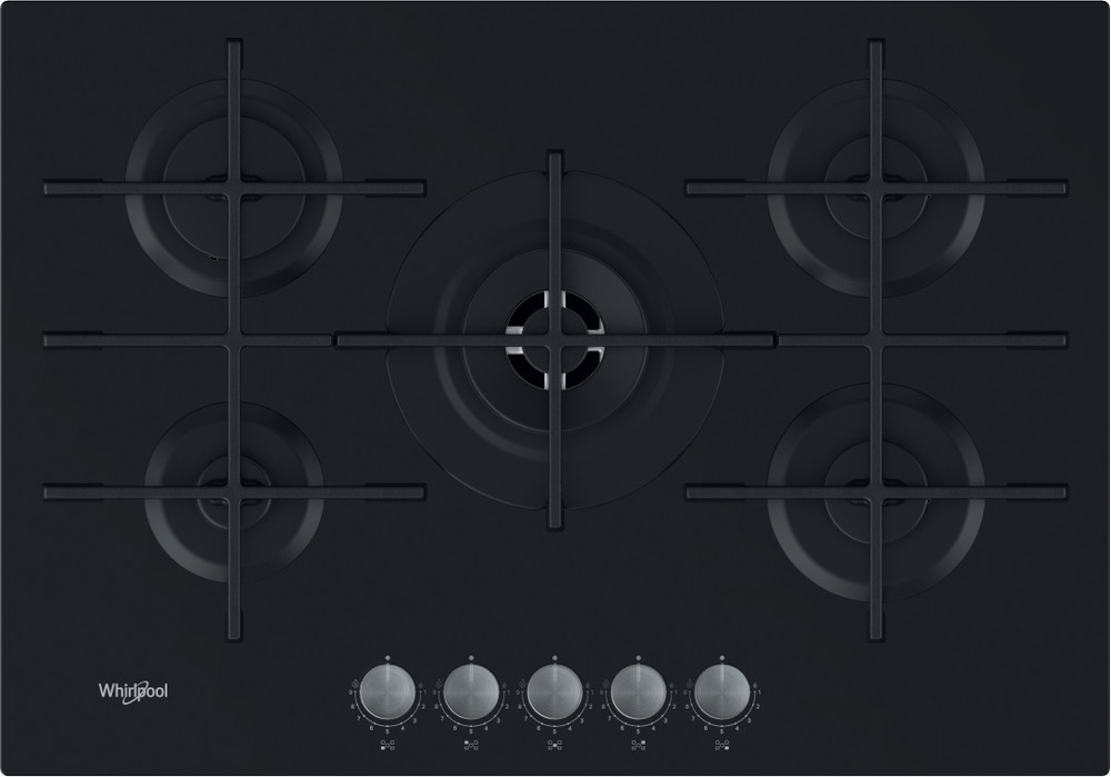 Whirlpool Hob GOWL 728/NB Black Plin Frontal