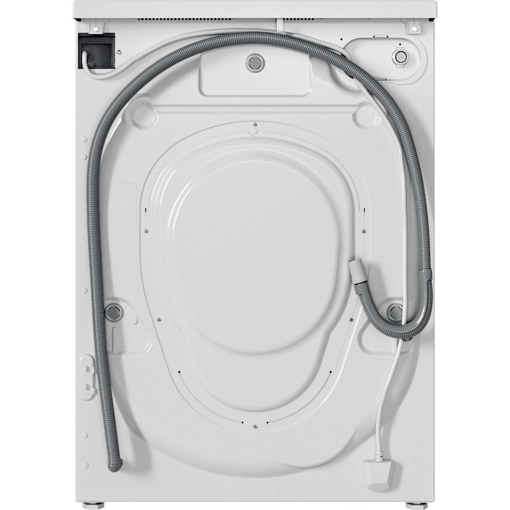 Indesit Washing machine Free-standing IWC 81251 W UK N White Front loader F Back / Lateral