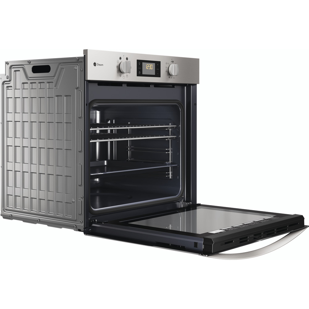 Indesit OVEN Built-in KFWS 3844 H IX UK Electric A+ Perspective open